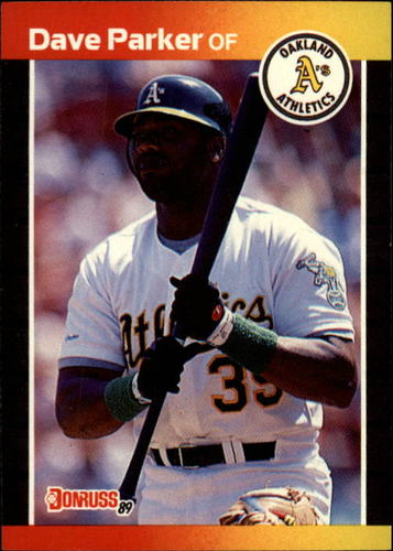Photo of 1989 Donruss #150 Dave Parker