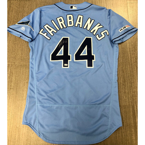 Photo of Autographed Jersey: Pete Fairbanks