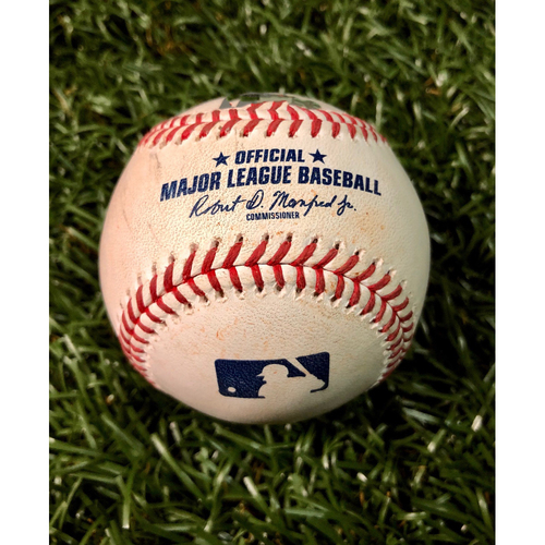 Photo of Game Used Baseball: Aaron Loup strikes out Kevin Pillar - August 4, 2020 v BOS