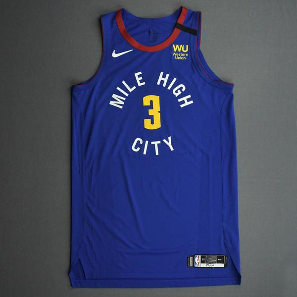 Image of Torrey Craig - Denver Nuggets - Game-Worn Statement Edition Jersey - 2019-20 NBA Season Restart with Social Justice Message