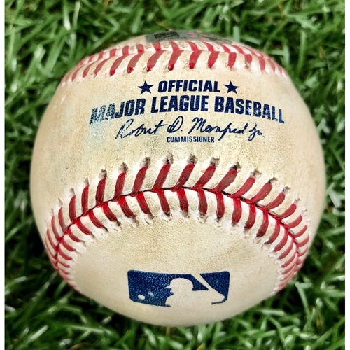 Photo of Game Used Baseball: Tyler Glasnow Strikes Out Cedric Mullins - August 25, 2020 v BAL