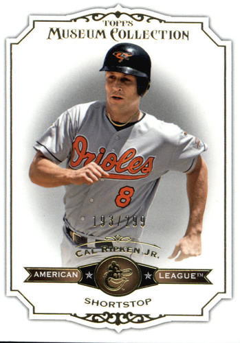 Photo of 2012 Topps Museum Collection Copper #12 Cal Ripken