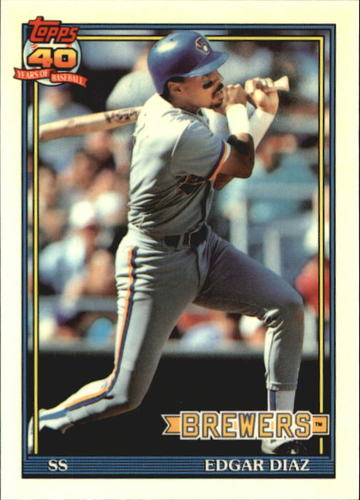 Photo of 1991 Topps Tiffany #164 Edgar Diaz