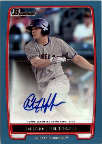 Photo of 2012 Bowman Prospect Autographs Blue #CH Chad Huffman
