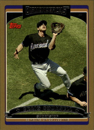 Photo of 2006 Topps Gold #583 Craig Counsell