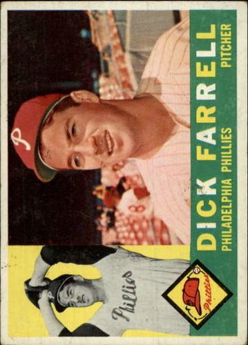 Photo of 1960 Topps #103 Dick Farrell
