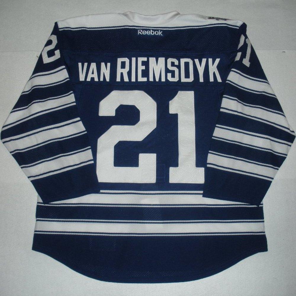 san francisco 1aac4 9dc88 21 James van Riemsdyk - 2014 Winter Classic - Toronto Maple ...