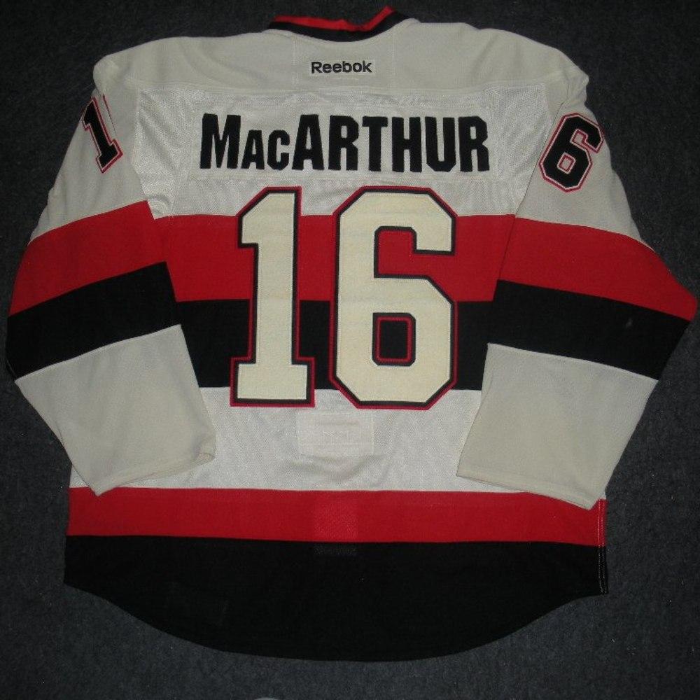 official photos 3ad9d bf6a6 Clarke MacArthur - 2014 Heritage Classic - Ottawa Senators ...