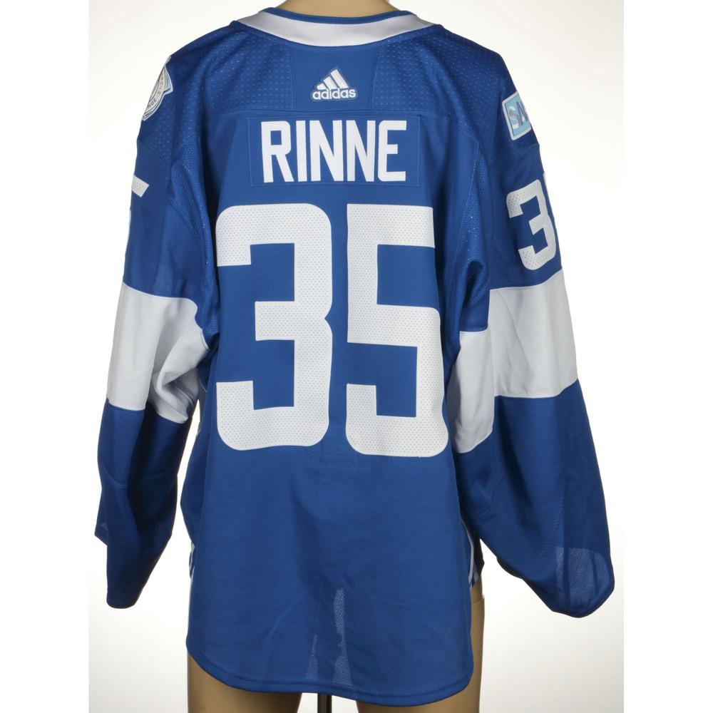 premium selection bf61f 87ec5 Pekka Rinne Nashville Predators Game-Worn World Cup of ...