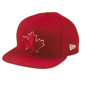 Toronto Blue Jays Alternate Game Red Snapback by New Era