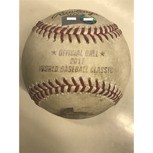 2017 World Baseball Classic: (JPN vs. NED) Round 2 - Batter: Jonathan Schoop vs. Pitcher: Takahiro Norimoto (Bot 9th, RBI Single to center field, Xander Bogaerts scores)