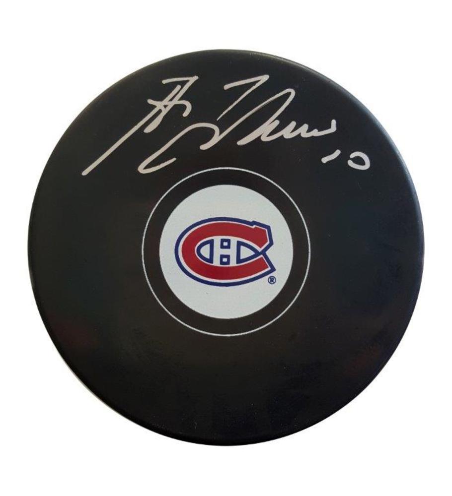 Guy Lafleur - Signed Montreal Canadiens Autograph Series Puck