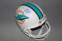 NFL - DOLPHINS JAY AJAYI SIGNED DOLPHINS PROLINE HELMET