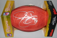 PANTHERS - JONATHAN STEWART SIGNED AUTHENTIC FOOTBALL