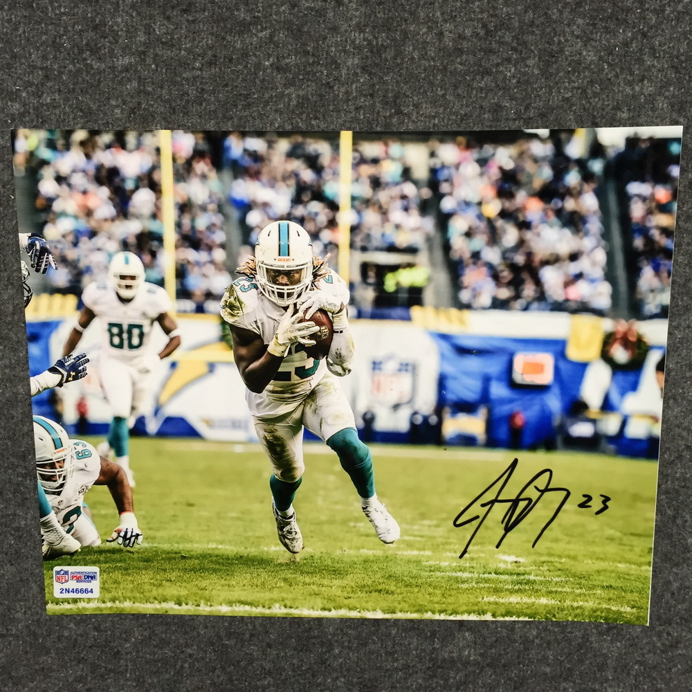 Dolphins - Jay Ajayi signed 8x10 photo