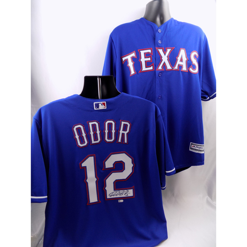 Photo of Autographed Jersey - Rougned Odor