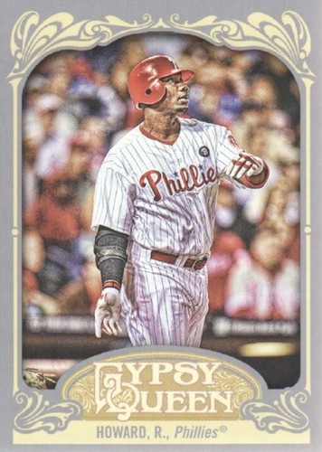 Photo of 2012 Topps Gypsy Queen #83A Ryan Howard
