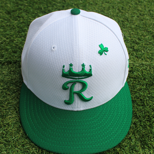 Photo of Game-Used St. Patrick's Day Cap: Zach Lovvorn (Size 7 1/8 - SF @ KC - 3/17/19)