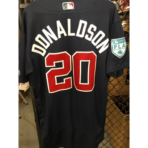 Josh Donaldson Game Used Spring Training Jersey