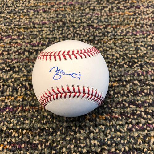 Photo of Buster Posey BP28 Foundation - Autographed Baseball signed by St. Louis Cardinals Catcher Yadier Molina