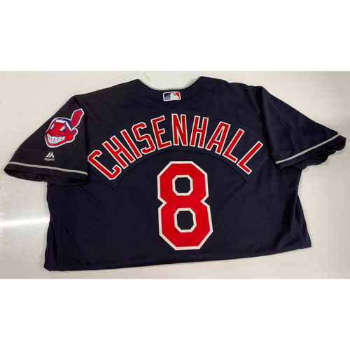 Photo of Lonnie Chisenhall Team Issued Alternate Road Jersey
