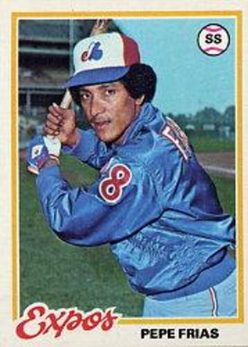 Photo of 1978 Topps #654 Pepe Frias
