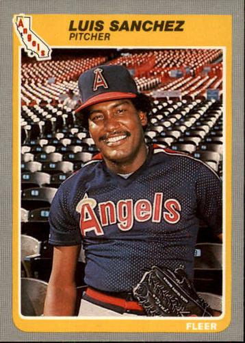 Photo of 1985 Fleer #310 Luis Sanchez