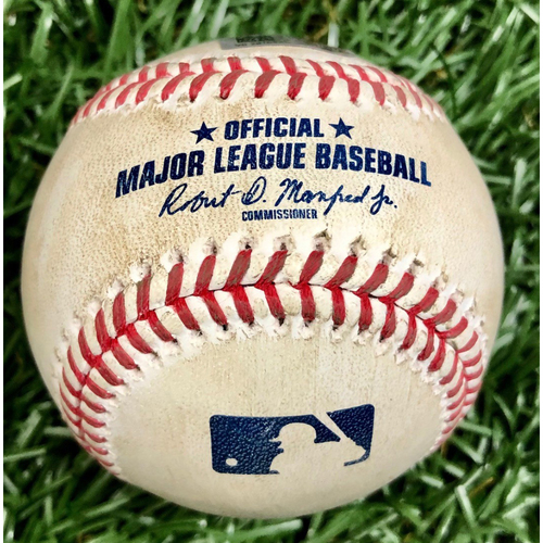 Photo of Game Used Baseball: Blake Snell strikes out Bobby Dalbec - September 11, 2020 v BOS