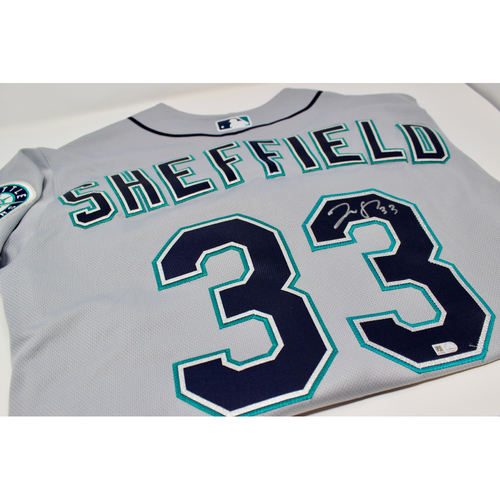Photo of Mariners Care: Justus Sheffield Autographed Jersey