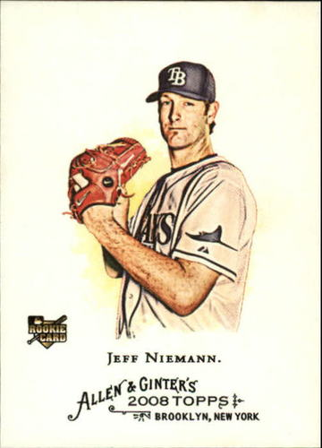 Photo of 2008 Topps Allen and Ginter #117 Jeff Niemann (RC)