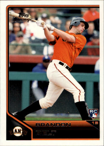 Photo of 2011 Topps Lineage #162 Brandon Belt Rookie Card