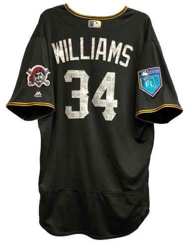 Photo of Trevor Williams Team-Issued 2018 Spring Training Jersey