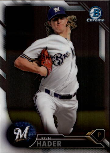 Photo of 2016 Bowman Chrome Draft #BDC157 Josh Hader