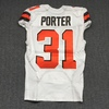 London Games - Browns Reggie Porter Game Worn Jersey (October 29, 2017) Size 40