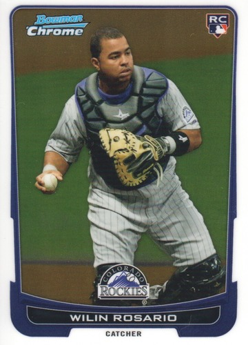 Photo of 2012 Bowman Chrome #118 Wilin Rosario RC