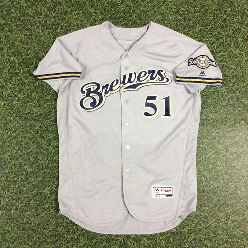 Photo of Oliver Drake 2018 Game-Used Opening Day Jersey