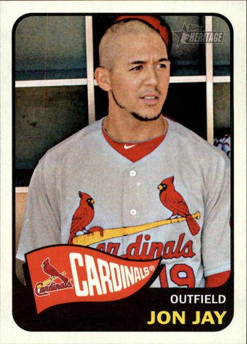Photo of 2014 Topps Heritage #21 Jon Jay