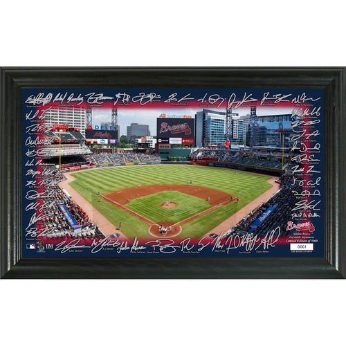 Photo of Atlanta Braves Signature Field Photo Frame