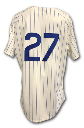 Photo of Addison Russell Game-Used 1969 Uniform -- Reds vs. Cubs -- 7/16/19
