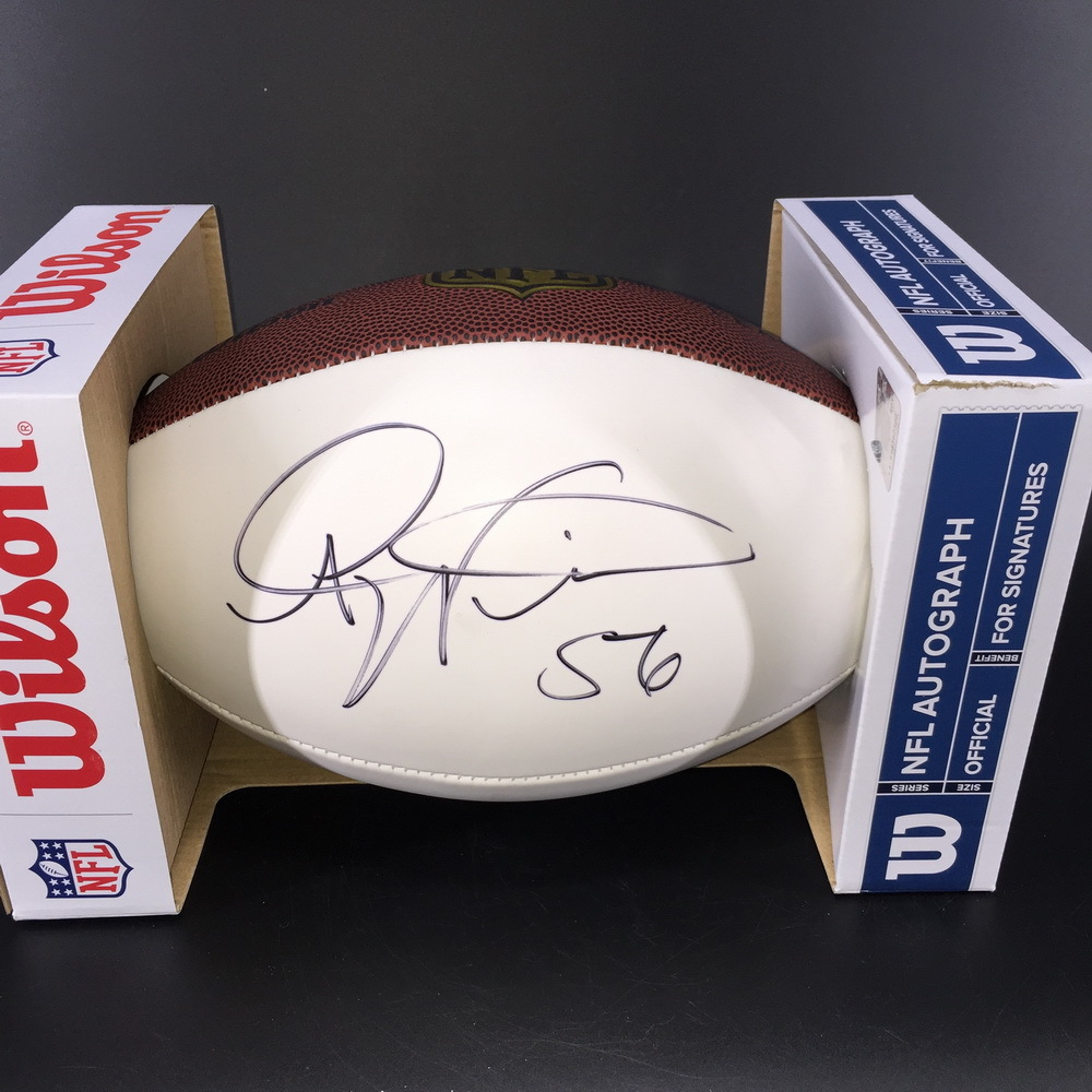 NFL - Broncos Al Wilson Signed Panel Ball