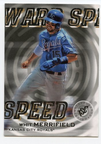 Photo of 2019 Stadium Club Warp Speed #WS10 Whit Merrifield