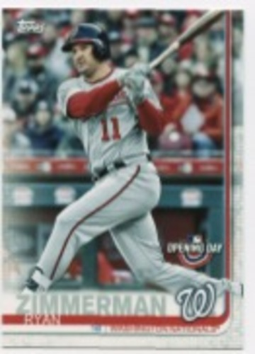 Photo of 2019 Topps Opening Day #122 Ryan Zimmerman
