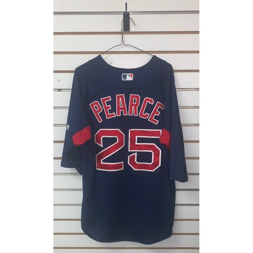 Photo of Steve Pearce Team Issued Road Batting Practice Jersey