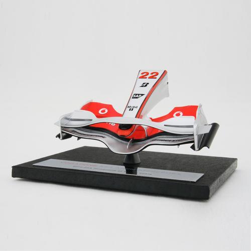 Photo of Lewis Hamilton 2008 1:12 Scale Model Nosecone - McLaren