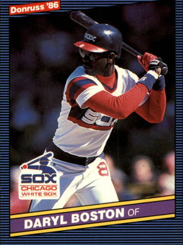 Photo of 1986 Donruss #86 Daryl Boston