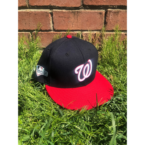 Photo of Joe Ross Team-Issued Cap with Postseason Patch