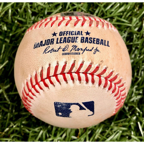 Photo of Game Used Baseball: Alex Verdugo single off Blake Snell - September 11, 2020 v BOS