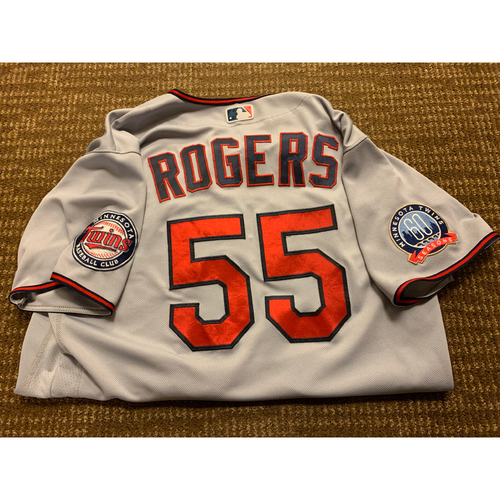Photo of Taylor Rogers Team-Issued Jersey