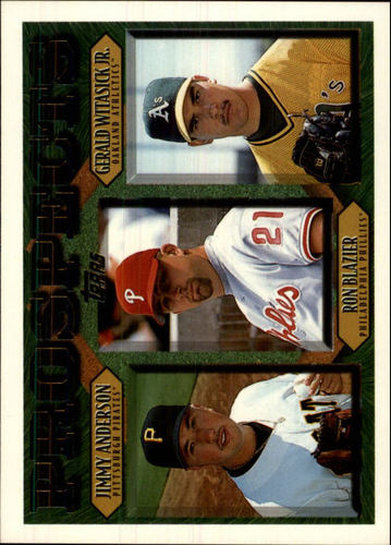 Photo of 1997 Topps #492 Jimmy Anderson RC/Ron Blazier/Gerald Witasick