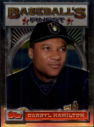 Photo of 1993 Finest #45 Darryl Hamilton